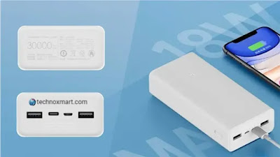 Xiaomi Mi 30000mAh Powerbank 3 Quick Charge Version Launched With 18W Charging, 24W Input