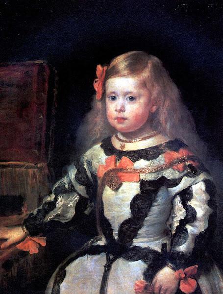 Диего Веласкес - Портрет принцессы Марии Маргариты, дочери Филиппа IV