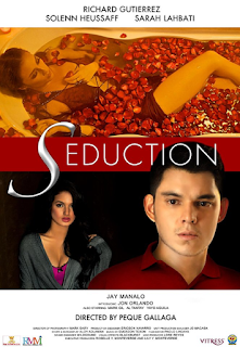 Seduction is a 2013 Filipino thriller drama film directed by Peque Gallaga and starring Richard Gutierrez, Solenn Heussaff, and Sarah Lahbati.