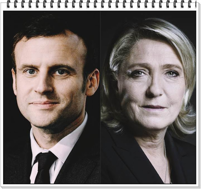 Who will be the next French president Emmanuel Macron vs Marine Le Pen