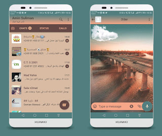 Bridge Theme For YOWhatsApp & Fouad WhatsApp By Ameen