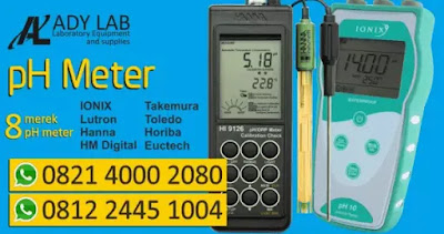 ady water jual ph meter