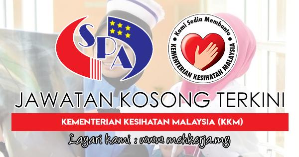 Jawatan Kosong Terkini 2018 di Kementerian Kesihatan Malaysia (KKM)