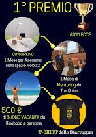 Primo premio Startup Weekend Lecce