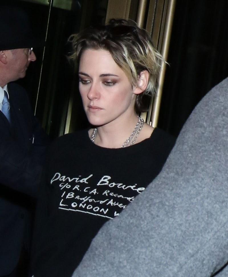 Kristen Stewart Clicked at Concorde Hotel In New York 05 NOV-2019