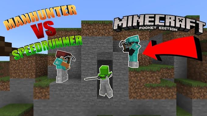 Manhunt VS Speedrunner (Mapa/Survival)