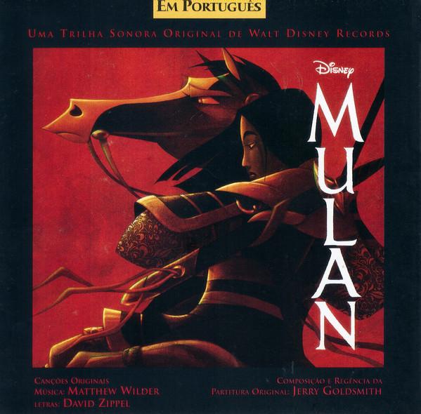 Encarte: Mulan (Uma Trilha Sonora Original de Walt Disney Records)