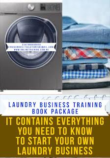 Laundry Business Training For Nigeria 2020