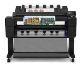 HP DesignJet T2500 Multifunction Télécharger Pilote