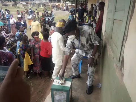 518d9dea 1cc1 41c2 b9c3 3b8b26f33046 - Huge prove as Ondo holds LG election[Photos]