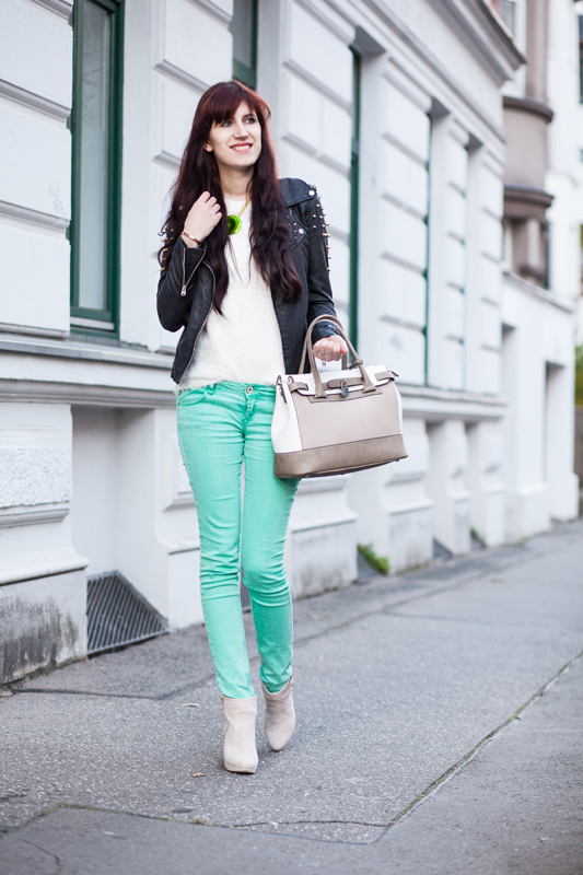 Outfit The Bloggers Choice Pastellfarben