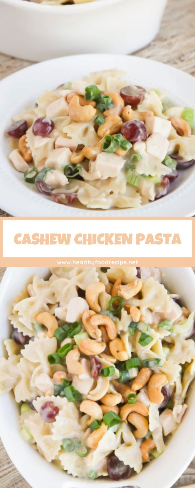 CASHEW CHICKEN PASTA
