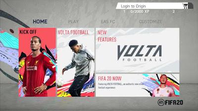 FIFA 20 Android Mod V1.8 Season 2019/2020