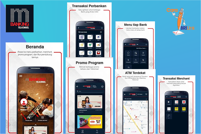 Cara baru akses mBanking dengan 1 aplikasi mBanking Telkomsel