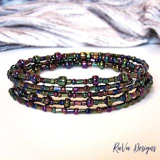 stacked bracelet bead pattern ideas rava designs