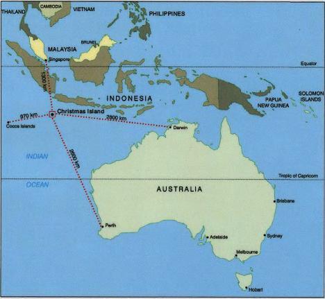 Where Is Christmas Island.World Of The Written Word Christmas Island