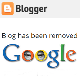 Blogspot Deleted By Google