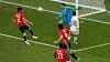 Com gol no fim, Uruguai vence Egito na estreia na Copa do Mundo