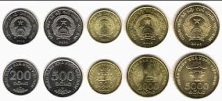 uang dong koin Vietnam