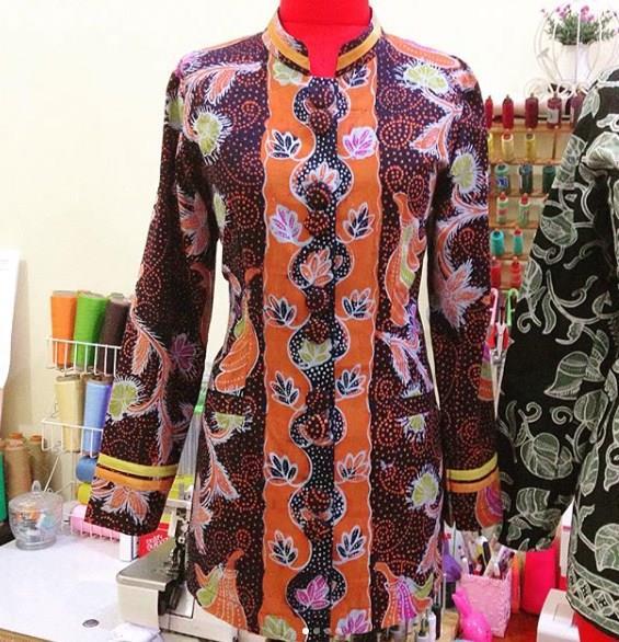Contoh Baju Batik Guru: 42+ Model Baju Seragam Batik Guru Modis Elegan Modern