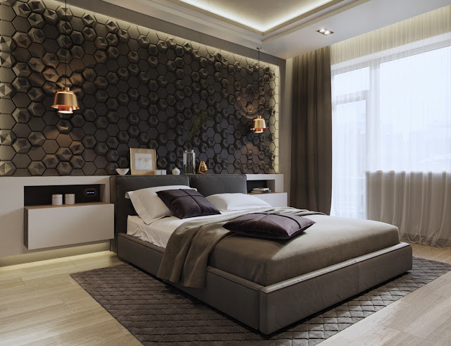 Master Bedroom Wall Decor Above