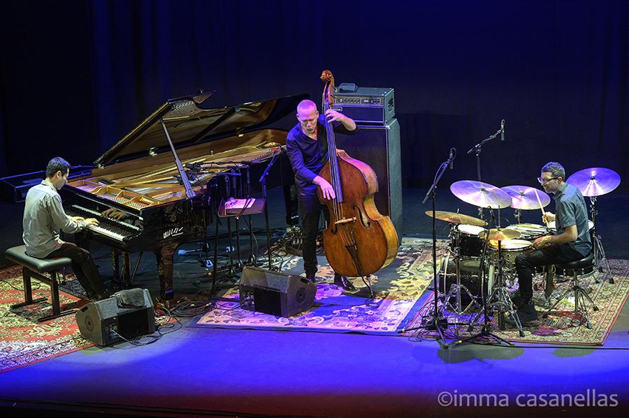Elchin Shirinov, Avishai Cohen i Mark Guiliana, Teatre Coliseum, Barcelona, 27-gener-2020