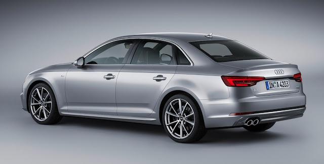 2017 Audi A4 sedan silver