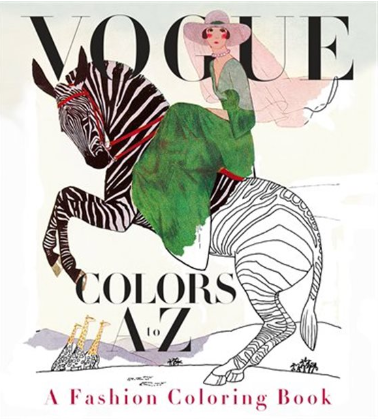 Vogue Colurs A to Z: A Fashion Colouring Book