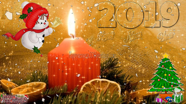 Happy New Year 2019 Colorful Desktop/PC wallpapers Download Free