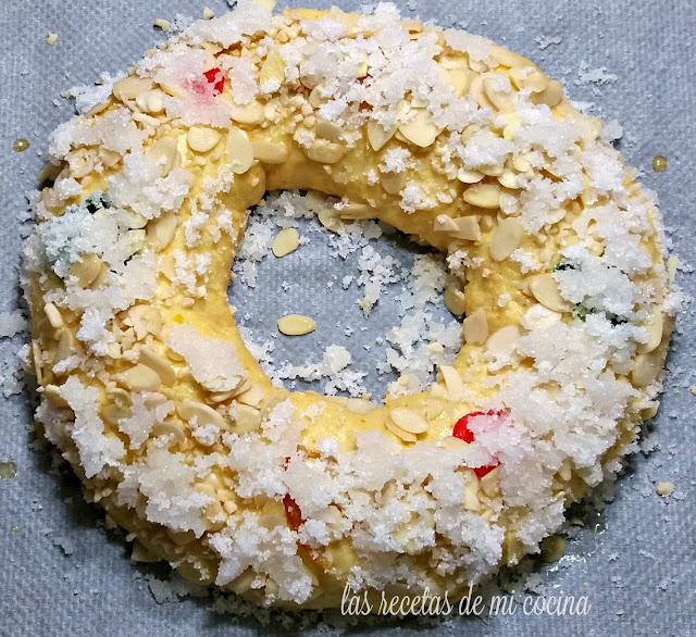 Roscón de Reyes ( Thermomix)