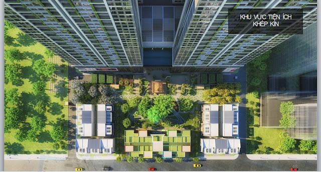 Khuôn viên dự án Lilaha Complex
