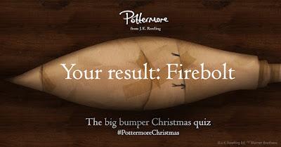Risultato quiz di Natale: Firebolt