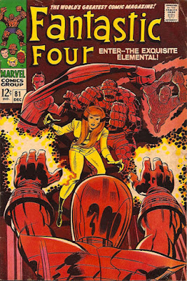 Fantastic Four #81, the Wizard, Crystal joins the FF