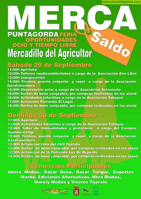 MERCAsaldo en el Mercadillo del Agricultor de Puntagorda