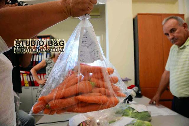 Το πρόγραμμα ελέγχου υπολειμμάτων φυτοπροστατευτικών προϊόντων από το υπουργείο Αγροτικής Ανάπτυξης και Τροφίμων
