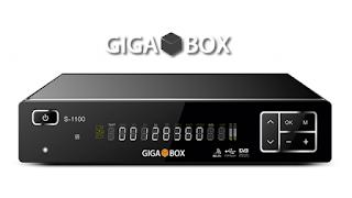 ATUALIZAÇÃO GIGABOX S1100 V 1.60 - 06/12/2016