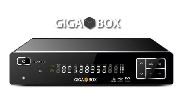 GIGABOX S1100 NOVA ATUALIZAÇÃO V 1.59 - 30/11/2016