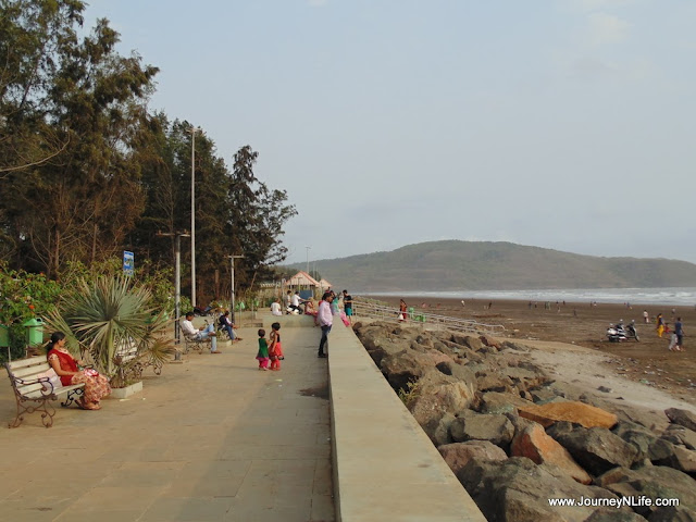 Weekend Bike trip Shrivardhan Beach from Pune