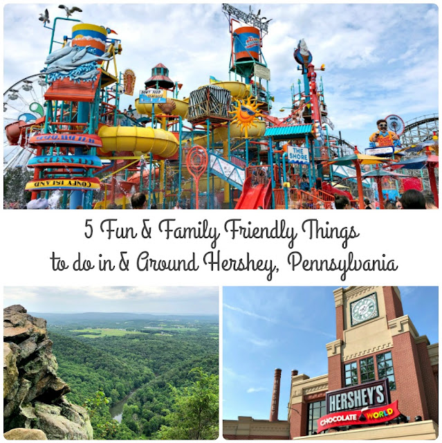 Hershey is so much more than just roller coasters & chocolate bars! Check out my top recommendations for 5 Fun & Family Friendly Things to do in & Around Hershey, Pennsylvania.