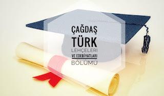 Çağdaş Türk Lehçeleri ve Edebiyatları Bölümü Nedir Ne İş Yapar?