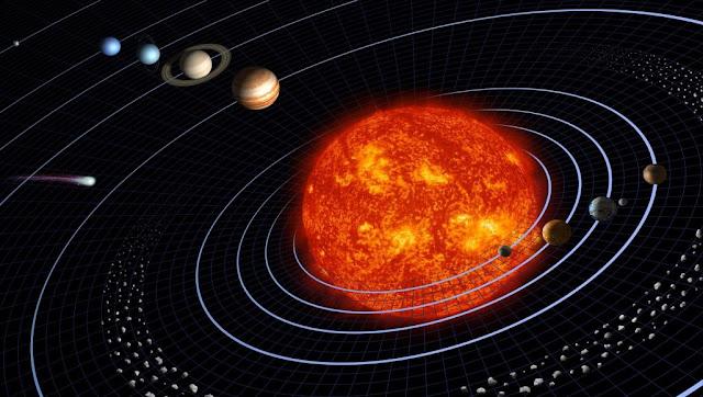 المجموعة الشمسية وكواكبها وشمسنا