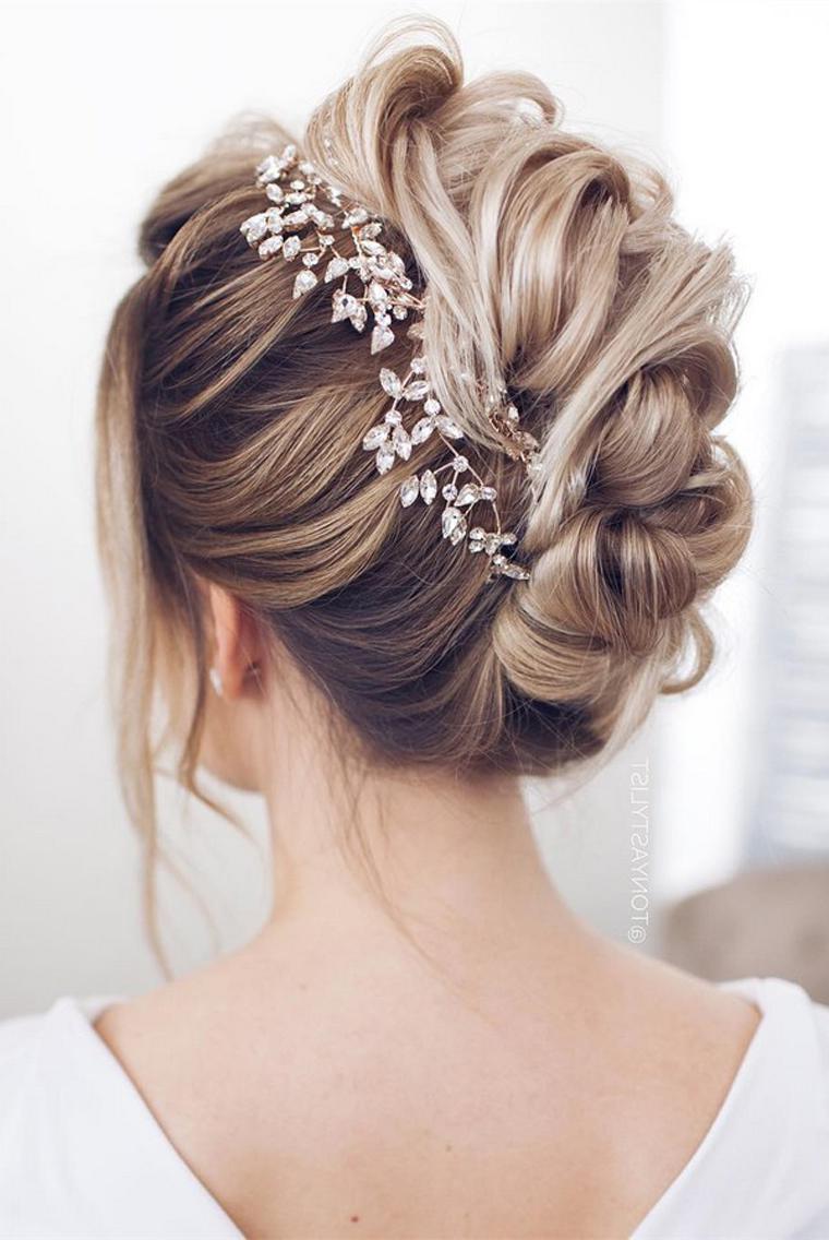 Hochsteckfrisuren Hochzeit Frisuren Trend 123