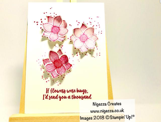 Stampin' Up!® Pop of Petals Simple Quick Card