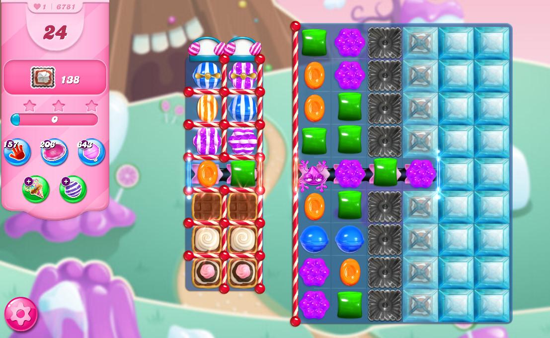 Candy Crush Saga level 6781