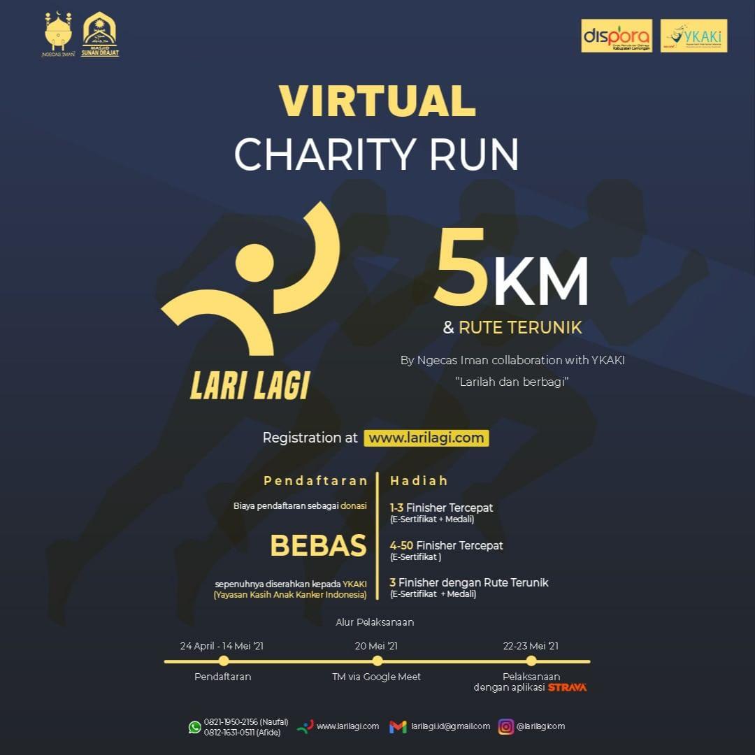 Lari Lagi - Virtual Charity Run • 2021