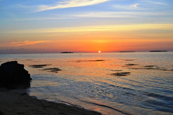 Sunset di Pantai Ujung Gelam Karimunjawa - Dok Siska