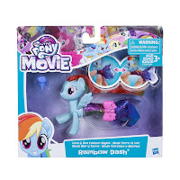 My Little Pony the Movie Rainbow Dash Land & Sea Fashion Styles Brushables