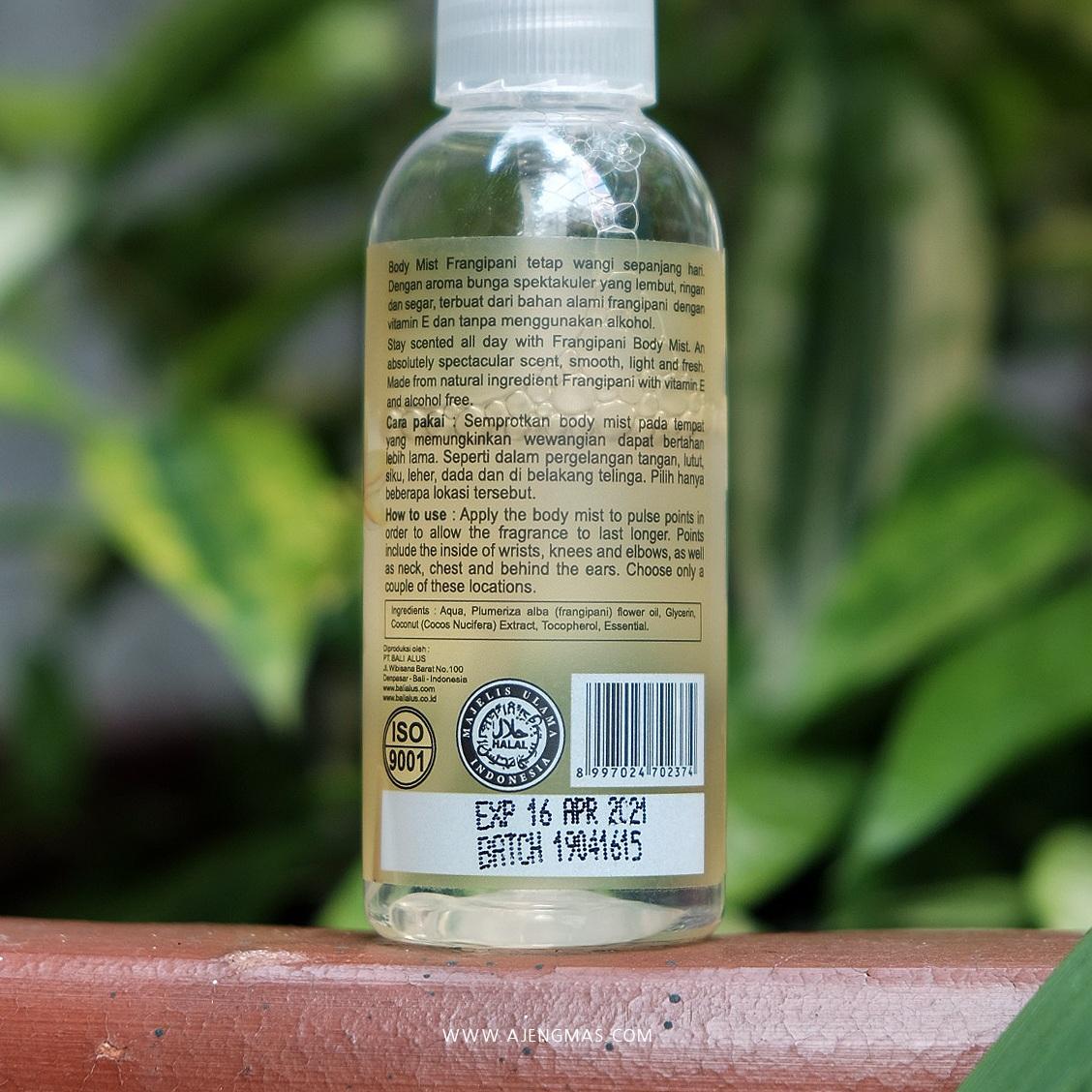 body-mist-bali-alus-frangipani-olive-skincare-aman-untuk-ibu-hamil-ajengmas