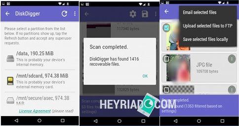√ Mengembalikan File Terhapus Di Android Dengan DiskDigger