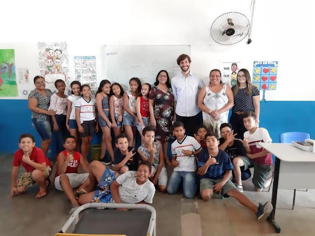 Em Piranhas,  Defensoria Pública vistoria escolas públicas municipais